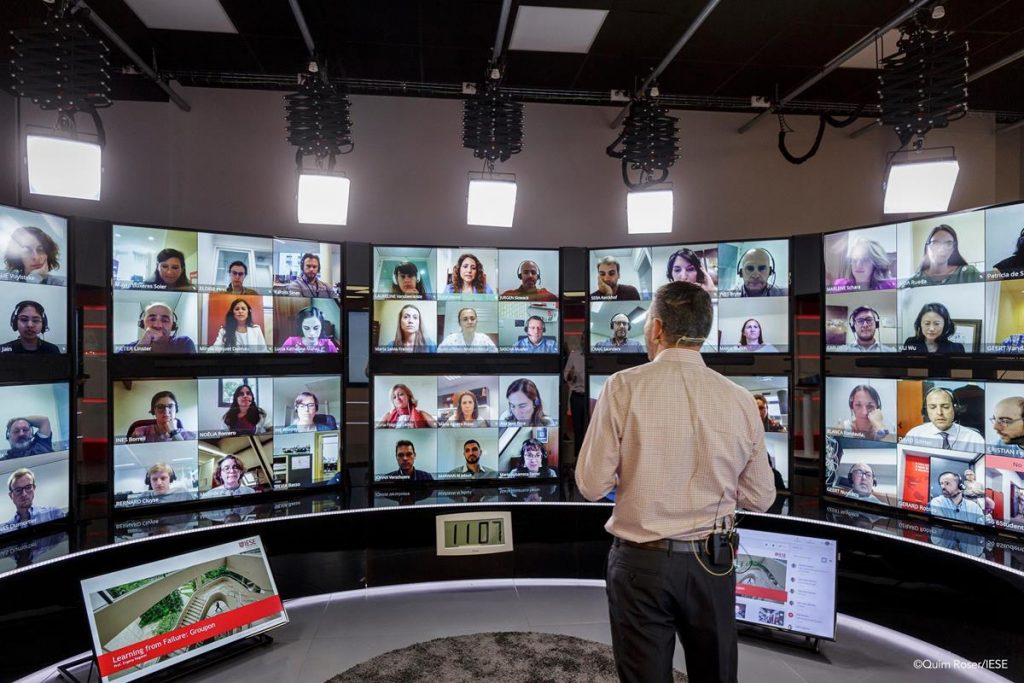 Barco Multi Screen Conference TV Studio