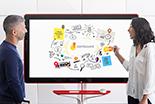 Mit der kostenlosen App wird das Google Jamboard zu einem interaktiven Erlebnis für alle Beteiligten.