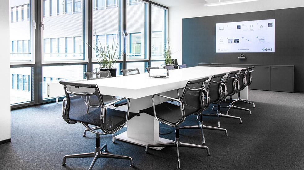 Raum Cisco: Moderne Medientechnik für Videokonferenzen und Meetings