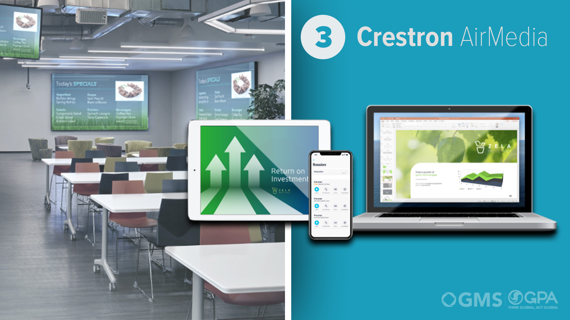 Crestron AirMedia bei GMS