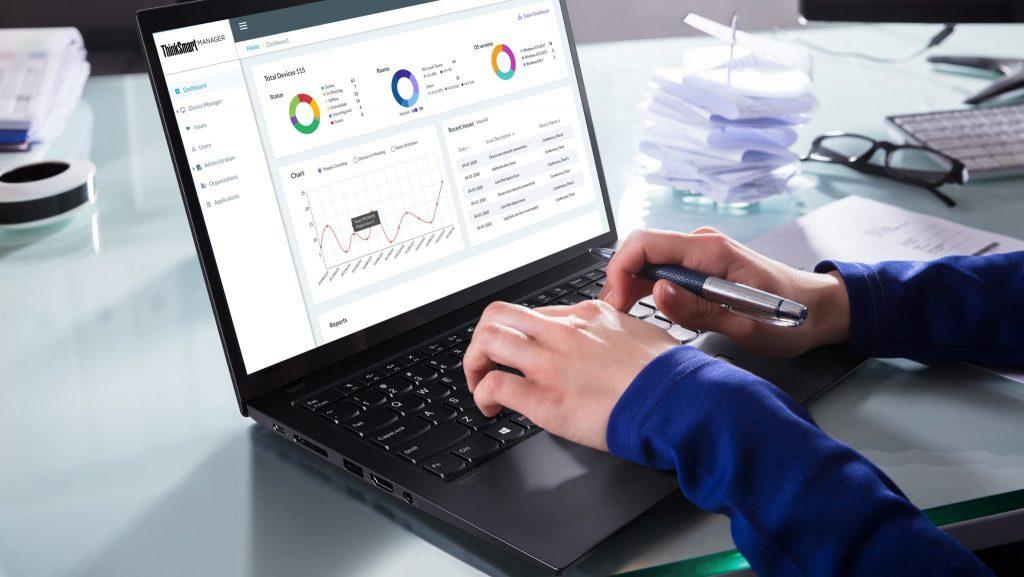 ThinkSmart Manager vereinfacht die Verwaltung ihrer Think Smart Collaboration Produkte