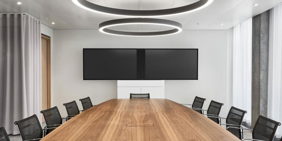 Besprechungsraum von Holzmedia